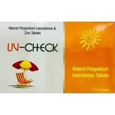 UV Check oral sunscream