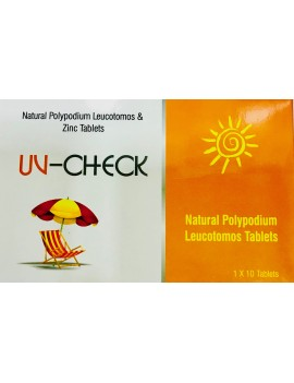UV Check oral sunscream