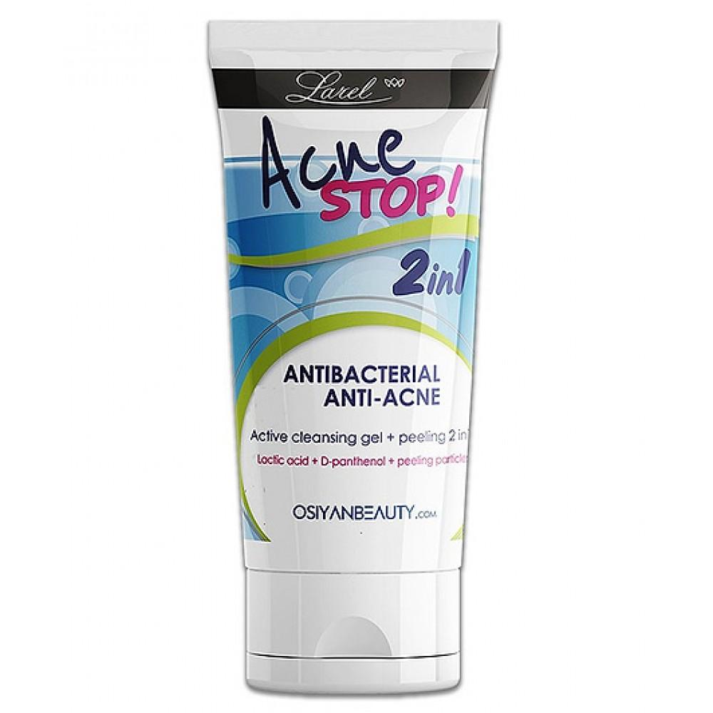 Anti-Acne Active Gel Peeling Washing 2 in 1 Antibacterial - 150 ml