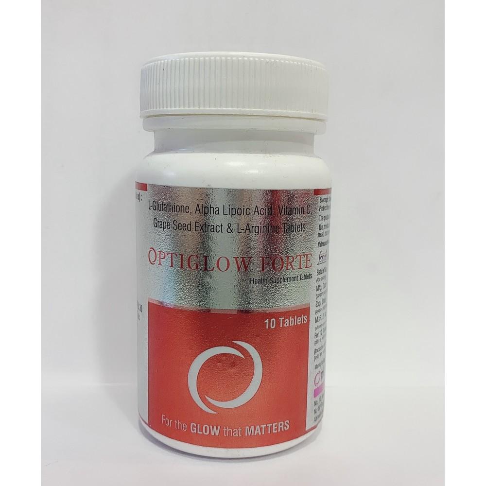 OPTIGLOW FORTE Glutathione 500mg TABLET 10 Tab