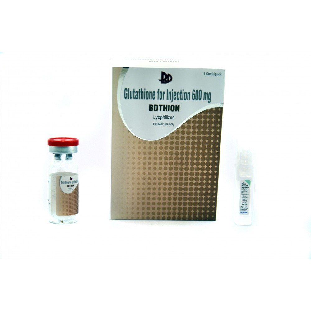 BDTHION Glutathione 600mg injection